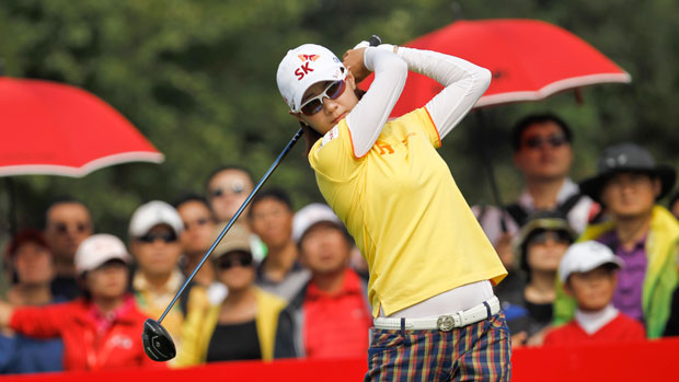 Na Yeon Choi during the second round of the 2013 Reignwood LPGA Classic
