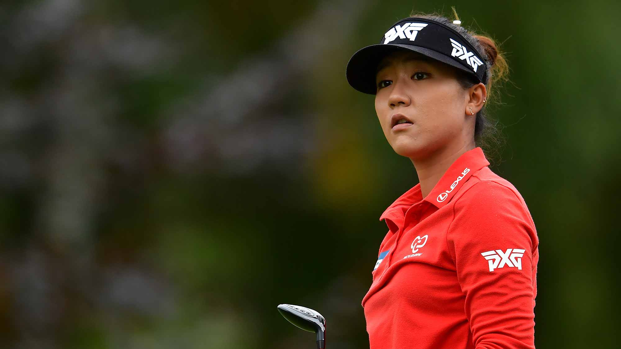 Lydia Ko of New Zealand at The Evian Golf Club in Evian-les-Bains, France