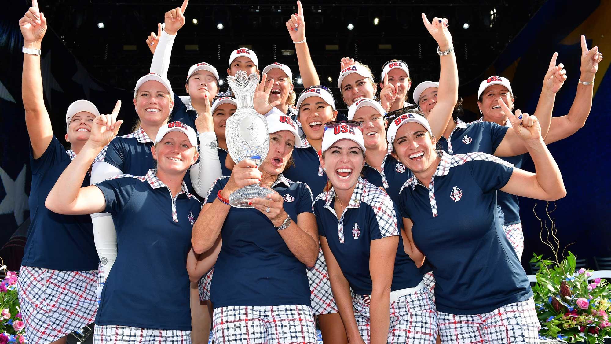 Women's International Team Golf Rides Strong Momentum Out ...