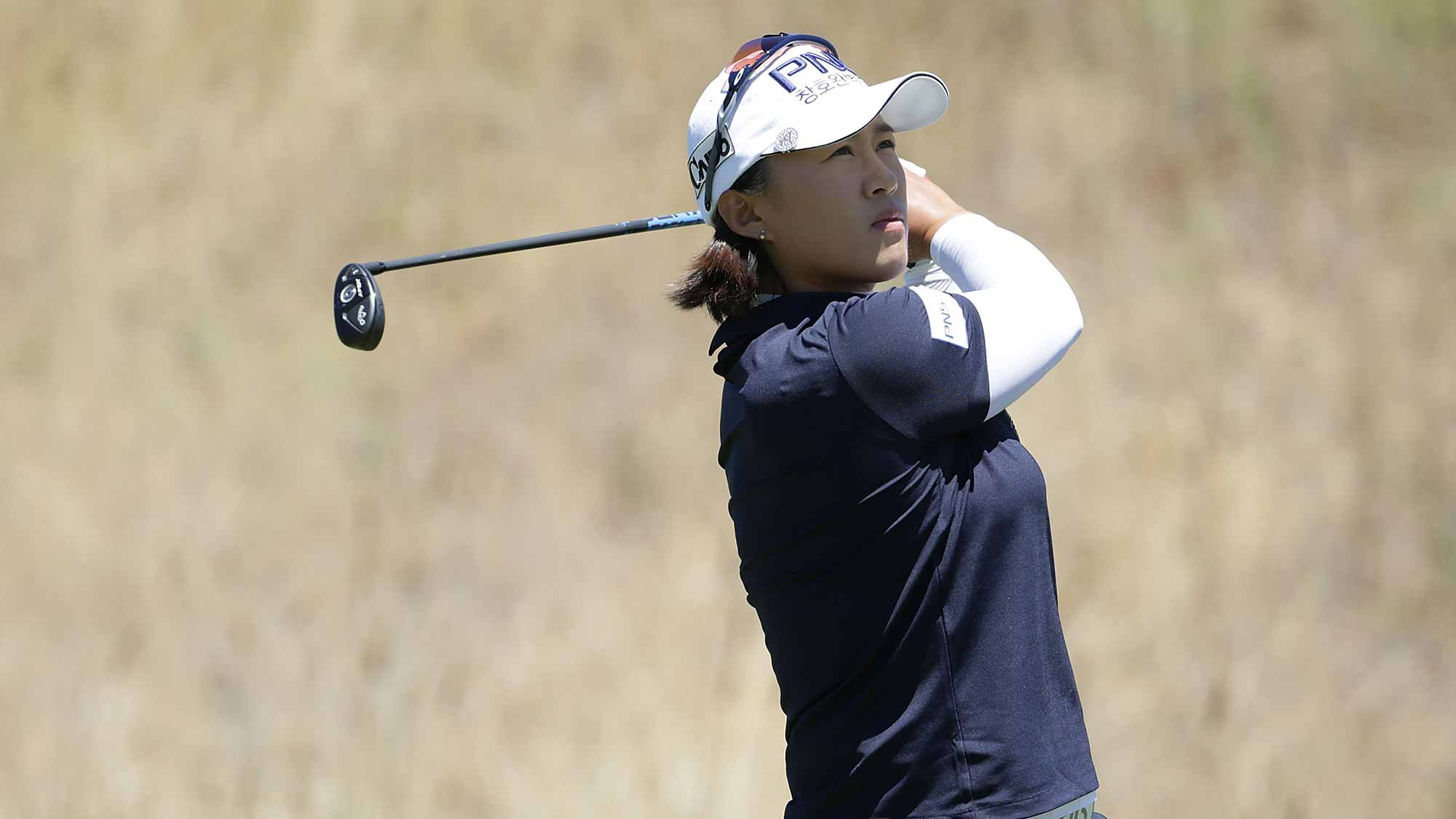 Amy Yang on the sixth hole during the third round of the U.S. Women's Open at the CordeValle Golf Club